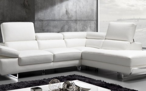 Sofa Silver Collection Dm Demir Leather